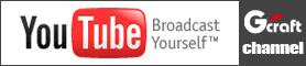 GクラフトYoutubeチャンネル