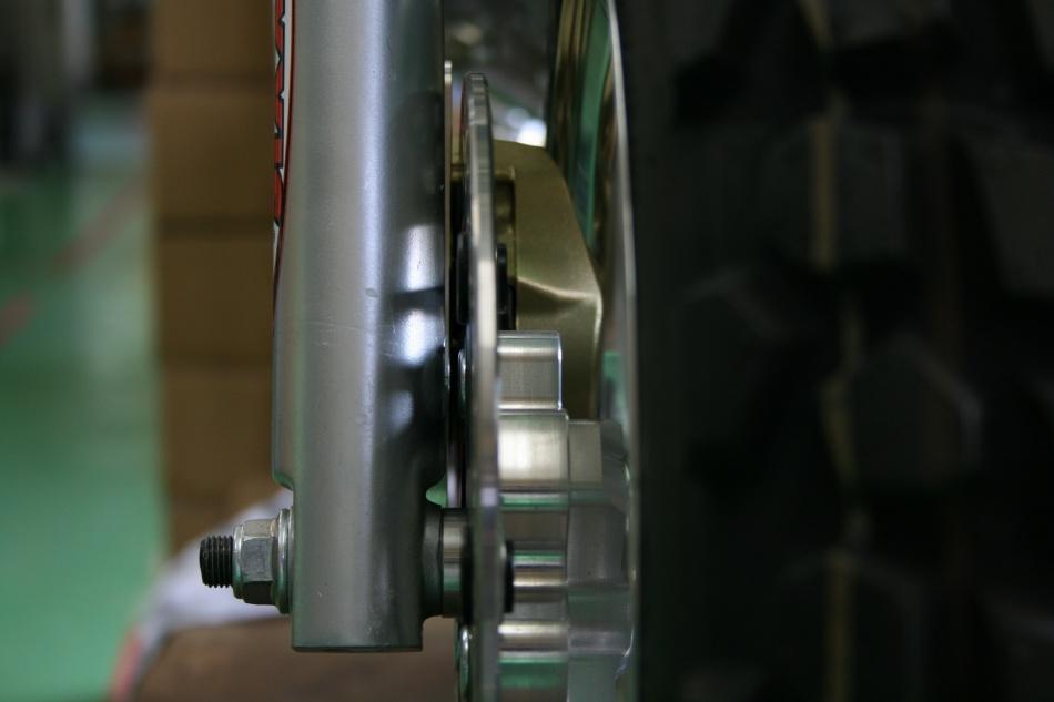 モンキーフロントディスク 4Jワイドホイール