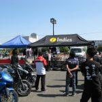 19日朝。いよいよ徳島モーターサイクルショーが始まります。
